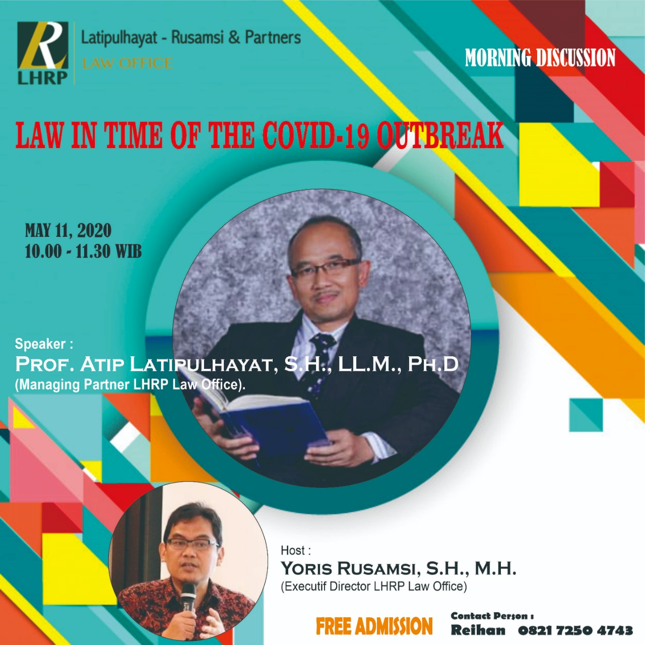 LAW IN TIME OF THE COVID-19 OUTBREAK